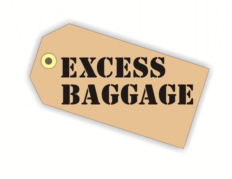 One For The Road Reducing Your Check In Luggage Weight